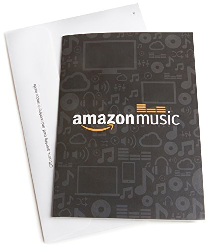Amazon.com Gift Card with Greeting Card - $50 (MP3)