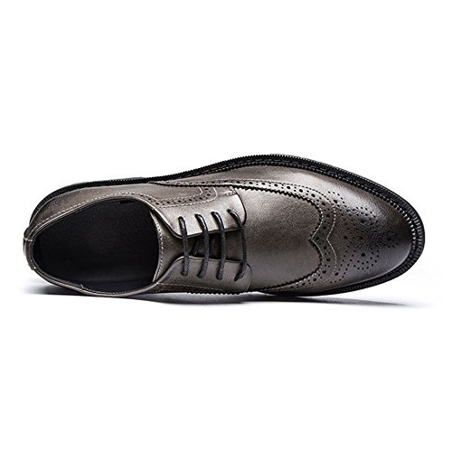 Chaussures LEDLFIE Casual Outillage Business Bullock Menswear Kaki Hommes Summer Chaussures 1qFOwp