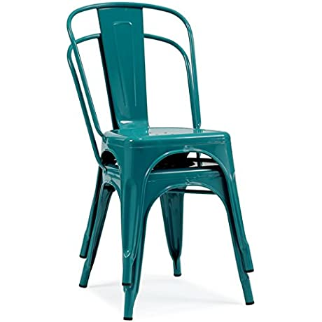 Tabouret Bistro Peacock Dining Chairs Set Of 2