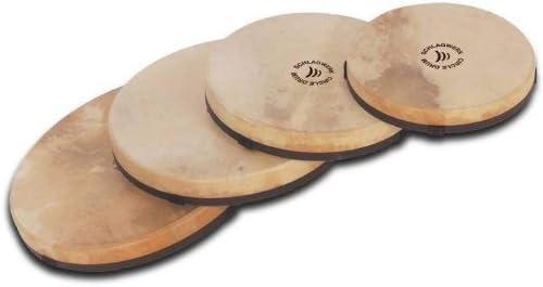 Schlagwerk RTC4GS Lot de 4 tambours circulaires 1 RTC34//2 RTC39//1RTC44