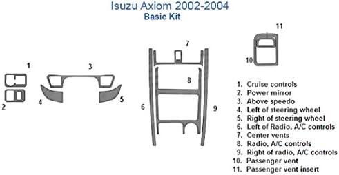 Tremendous Amazon Com Isuzu Axiom Basic Dash Trim Kit Zebra Rosewood Automotive Wiring Digital Resources Remcakbiperorg