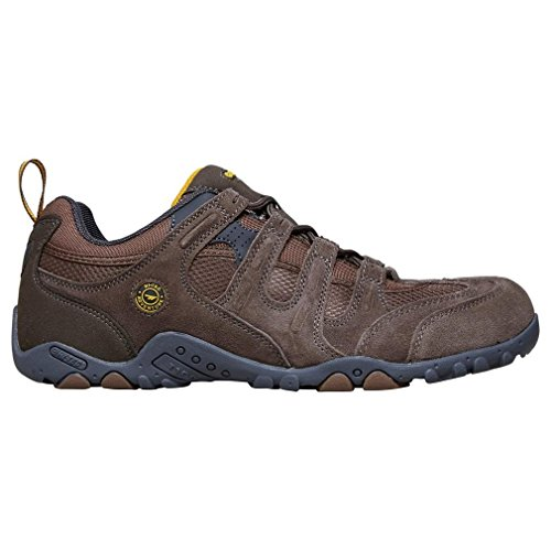- HI TEC Men's Saunter Walking Shoes, Brown, US13