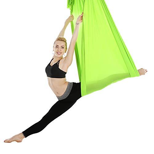 MUEN.CC Hamaca De Yoga Antena Elástica 2, 8 M Yoga Salón De ...