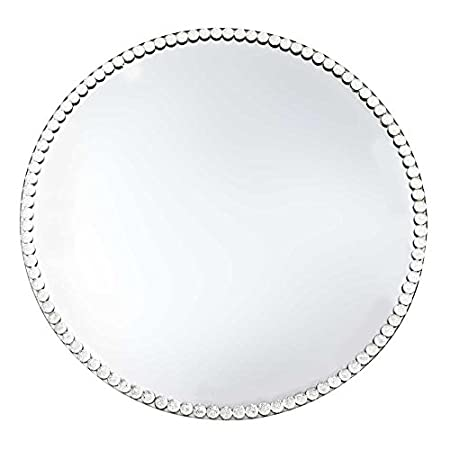 Round Mirror Candle Plate 30cm - Best Candle 2018