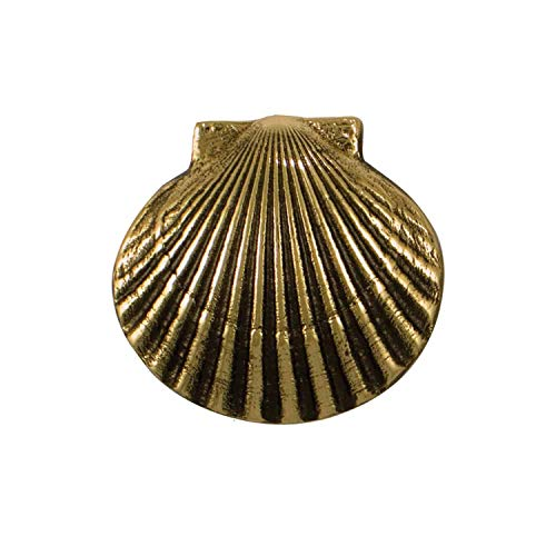 (Bay Scallop Doorbell Ringer - Brass)