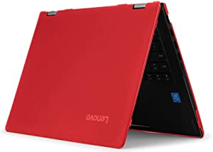 "mCover Hard Shell Case for 14"" Lenovo Yoga C740 (14) Series 2-in-1 Laptop (Red)"