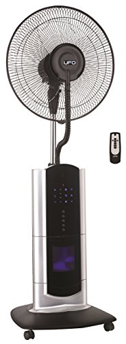 UFO ATSFI-121 Oscillating Stand Fan with Cool Mist, Ionizer and Remote ()
