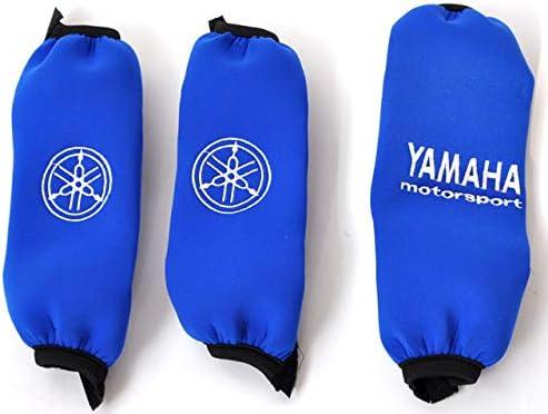 Federbeinsch/ützer Neopren Ersatzteil f/ür//kompatibel mit Yamaha YFM 700 R in blau