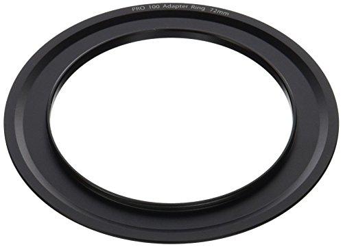 Tiffen Step Ring Camera Lens Square Filter, Black (PRO10072AR)