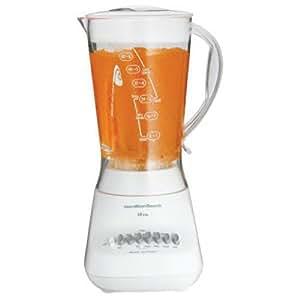 Hamilton Beach 10-Speed Wave-Action Blender with 56 oz Jar, White (50161N)
