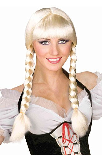 Ladies Costume German Officer (German Oktoberfest Bavarian Braided Inga)