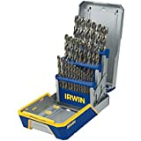 IRWIN Tools Cobalt High-Speed Steel Drill Bit, 29-Piece Metal Index Set (3018002)