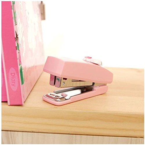 Hello Kitty Mini Stapler Pink Kid Cute Baby Girl Gift Staple Desk Office Teen