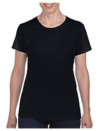 Gildan Womens Heavy Cotton Adult T-Shirt, 2-Pack
