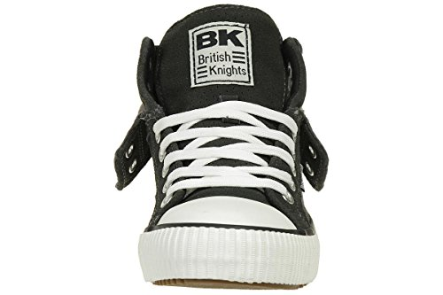 British Knights ROCO BK men trainer Sneaker B40-3705-06 Suede grey, shoe size:EUR 45