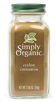 Simply Organic Ground Ceylon Cinnamon