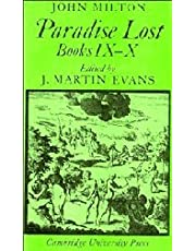 Paradise Lost: Books 9-10: Bks. 9 & 10 (Cambridge Milton Series for Schools and Colleges)