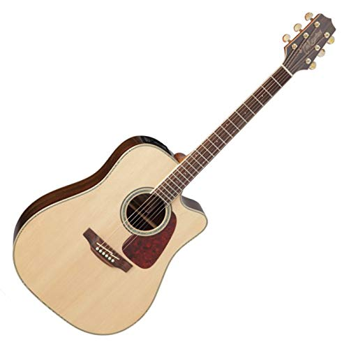Takamine GD71CE-NAT Dreadnought Cutaway Acoustic-Electric Guitar, Natural by Takamine