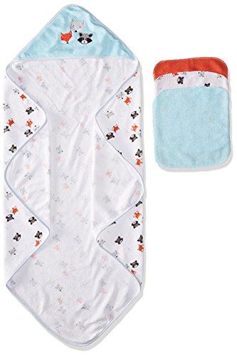 Rene Rofe Baby Baby 4 Piece Hooded Towel and Washcloth Se...