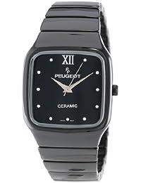 Swiss Ladies Square Black Ceramic Watch Ps4899bk