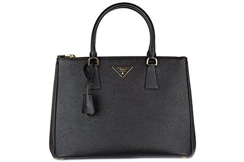 noir galleria main femme à Prada bandolulière lux sac 8F0W7zA