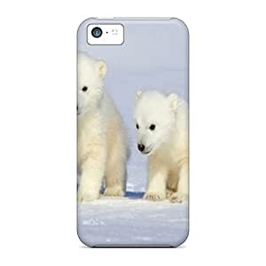 HUP20737sKpC Anti-scratch Cases Covers CalvinDoucet Protective Polar Cubs Cases For Iphone 5c