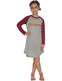 Intimo Big Girls Harry Potter L/s Hogwarts Raglan Night Gown