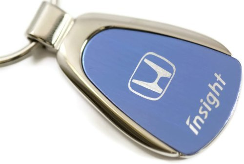 Honda Insight Blue Teardrop Key Fob Authentic Logo Key Chain Key Ring Keychain Lanyard