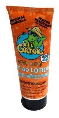Lil Gator Spf40 4 Oz by Aloe Gator