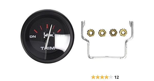 Amazon Com Sierra 58431p 2 Trim Gauge Automotive