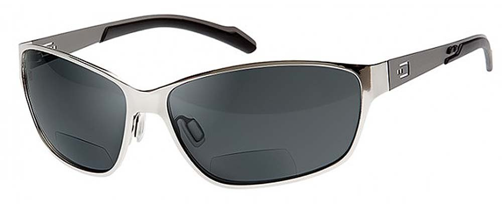 d781fdba73 Amazon.com  Dual Power Eyewear AV1 Stainless Steel With Smoke Lens 2.50 Bifocal  Sunglasses  Health   Personal Care