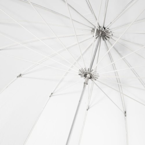 Perfect for Product Photography 150 cm Black//White Walimex Reflex Umbrella