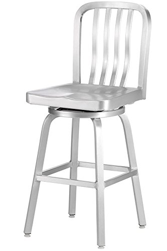 Amazon.com Sandra Counter Stool SWIVEL BRUSHED ALUMINM Kitchen u0026 Dining  sc 1 st  Amazon.com & Amazon.com: Sandra Counter Stool SWIVEL BRUSHED ALUMINM: Kitchen ... islam-shia.org