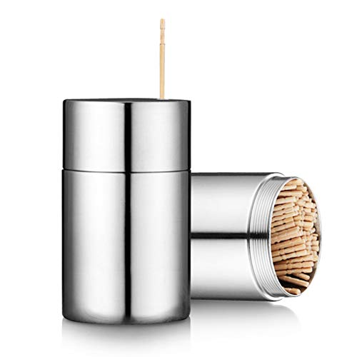 Toothpicks Holder Dispenser Stainless