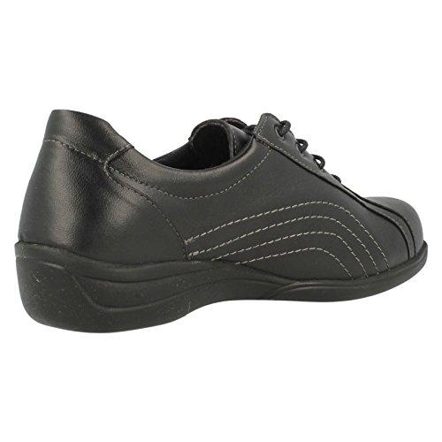 Noir À Chaussures Pour Large Ouverture Easy B Lacets Melina q8wU11