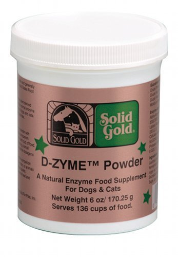 Solid Gold D-Zyme Digestive Enzyme Powder Supplement for Dog and Cats, 6oz, My Pet Supplies