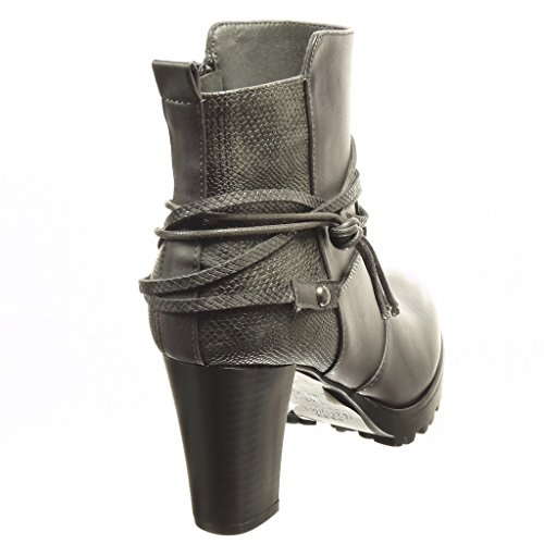 Angkorly damen Schuhe Stiefeletten Low boots Plateauschuhe ...