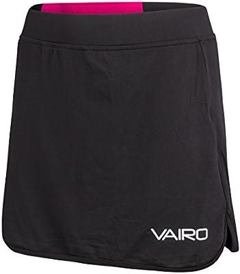 VAIRO Falda Pantalon (Skort) Columns (Negro/Verde, M): Amazon.es ...
