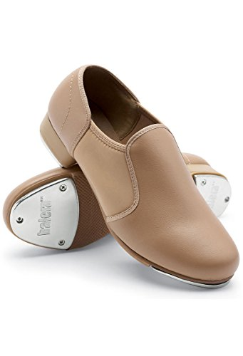 (Balera Tap Dance Shoe Slip-On Caramel)