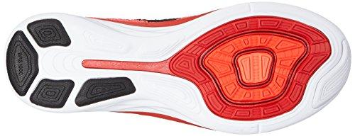 Hommes Nike Flyknit Lunaire 3 Rouge / Cramoisi / Lave / Noir 698181-602 Sz 13 (31 Cm)