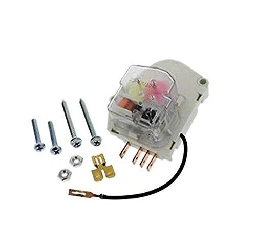 W10822278 Refrigerator Defrost Timer for Kenmore, Whirlpool, Amana, KitchenAid, Maytag, Magic Chef, and Other Top Brands - Refrigerator Defrost Timer