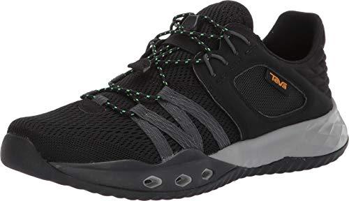 (Teva New Men's Terra-Float Churn Waterproof Sneaker Black/Dark Shadow 10)