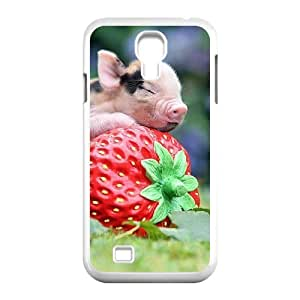 Cool PaintingFashion Cell phone case Of Little Pig Bumper Plastic Hard Case For Samsung Galaxy S4 i9500