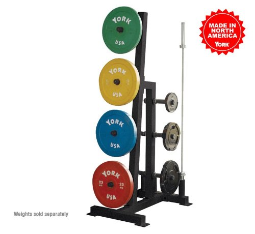 York Barbell Single-Sided Plate Tree (Commercial) by York Fitness