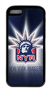 TYHH - New York Rangers Shining Liberty Customizable iphone 5/5s Case by icasepersonalized ending phone case