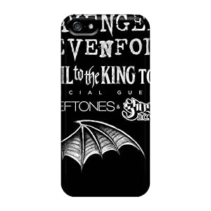 Iphone 5/5s Rks14634gzHn Allow Personal Design Beautiful Avenged Sevenfold Image Anti-Scratch Hard Phone Cover -MansourMurray