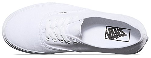 VANS Unisex Authentic True White Canvas VN000EE3W00 Mens 7.5 ... a1d0e946d896
