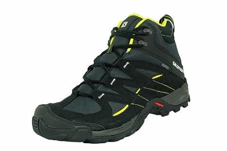 SALOMON CAMPSIDE MID GTX II Black Yellow Men Schoes Hiking