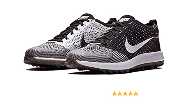 6c34278f9399 Amazon.com  Nike Mens Flyknit Racer G Golf Shoes  Sports   Outdoors