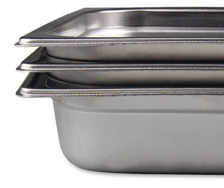 Vollrath 2220269 1/2 size, 6' deep Steam Table Pan, 6 Pack